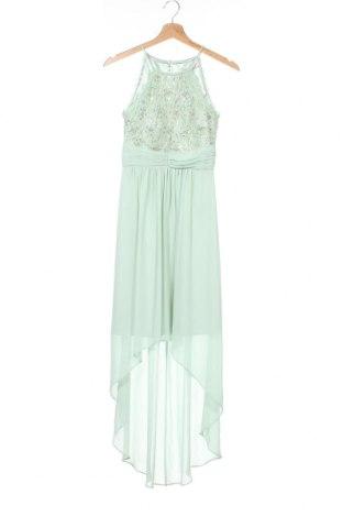 Φόρεμα Jake*s, Μέγεθος XXS, Χρώμα Πράσινο, 65% βαμβάκι, 35% πολυαμίδη, Τιμή 47,17€