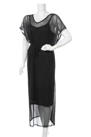 Φόρεμα Jean Pascale, Μέγεθος L, Χρώμα Μαύρο, 95% πολυεστέρας, 5% ελαστάνη, Τιμή 17,54€