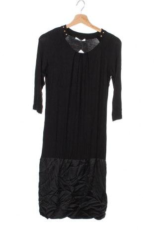 Φόρεμα Liu Jo, Μέγεθος XS, Χρώμα Μαύρο, 95% βισκόζη, 5% ελαστάνη, Τιμή 31,18€