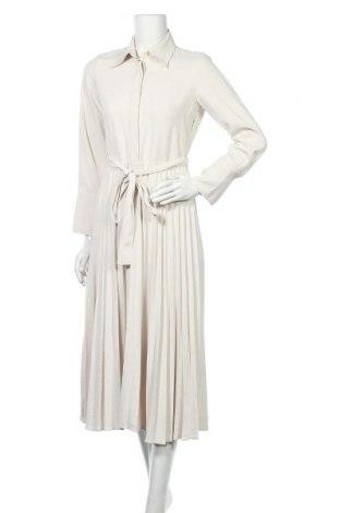Šaty  Massimo Dutti, Velikost S, Barva Krémová, Acetát , Cena  1894,00Kč