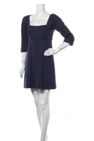 Φόρεμα Max Studio, Μέγεθος M, Χρώμα Μπλέ, 68% βισκόζη, 29% πολυεστέρας, 3% ελαστάνη, Τιμή 67,02€