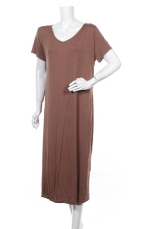 Рокля Miss Look, Размер XL, Цвят Кафяв, Памук, полиестер, Цена 23,52лв.
