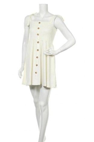 Φόρεμα Na-Kd, Μέγεθος L, Χρώμα Εκρού, 62% πολυεστέρας, 33% βισκόζη, 5% ελαστάνη, Τιμή 17,32€