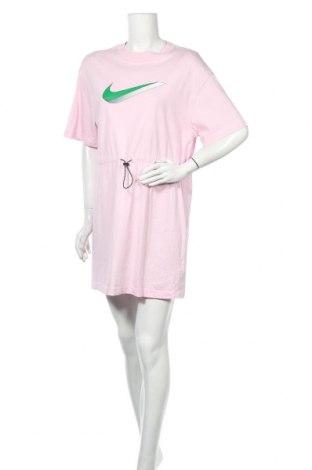 Рокля Nike, Размер M, Цвят Розов, Памук, Цена 79,57лв.