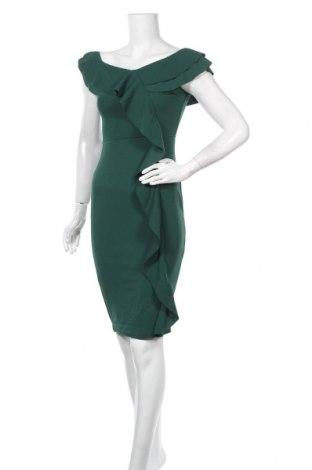 Рокля Quiz, Размер M, Цвят Зелен, 95% полиестер, 5% еластан, Цена 36,57лв.