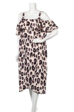 Φόρεμα Quiz, Μέγεθος 3XL, Χρώμα Πολύχρωμο, 96% πολυεστέρας, 4% ελαστάνη, Τιμή 21,83€