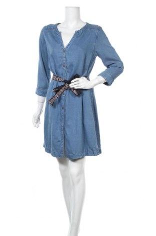 Φόρεμα S.Oliver, Μέγεθος L, Χρώμα Μπλέ, Lyocell, Τιμή 26,61€
