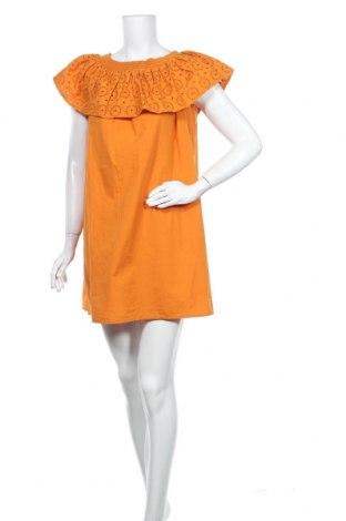 Φόρεμα Tom Tailor, Μέγεθος L, Χρώμα Πορτοκαλί, Βαμβάκι, Τιμή 31,20€