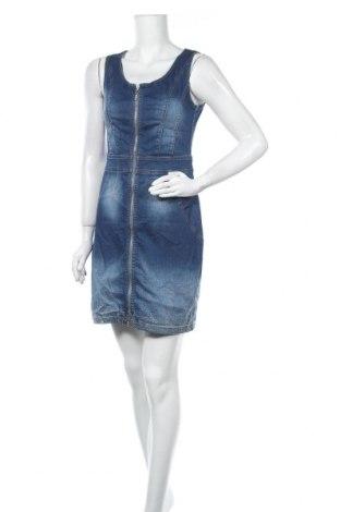 Φόρεμα Tuzzi, Μέγεθος S, Χρώμα Μπλέ, 97% βαμβάκι, 3% ελαστάνη, Τιμή 13,64€