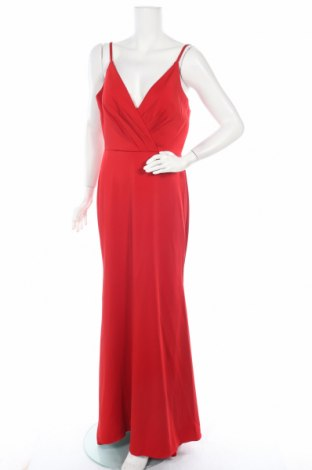 Rochie Unique, Mărime L, Culoare Roșu, Poliester, Preț 153,35 Lei