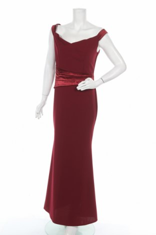 Φόρεμα Wal G, Μέγεθος XL, Χρώμα Κόκκινο, 95% πολυεστέρας, 5% ελαστάνη, Τιμή 42,68€