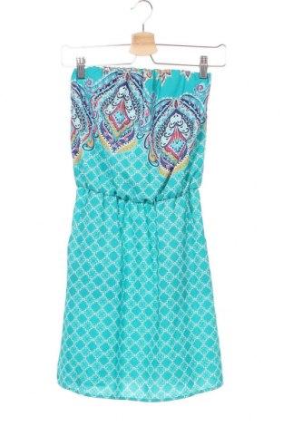 Φόρεμα Xhilaration, Μέγεθος XS, Χρώμα Μπλέ, 100% πολυεστέρας, Τιμή 11,43€