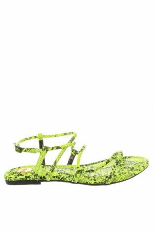 Сандали Buffalo, Размер 41, Цвят Зелен, Еко кожа, Цена 19,58лв.