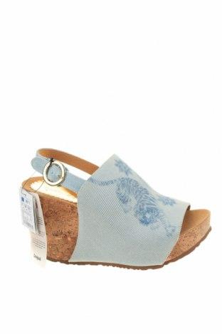Sandály Desigual, Velikost 37, Barva Modrá, Textile , Cena  1682,00Kč