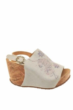Sandály Desigual, Velikost 36, Barva Béžová, Textile , Cena  1682,00Kč