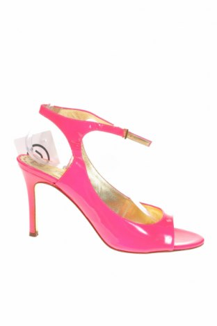 Сандали Juicy Couture, Размер 39, Цвят Розов, Еко кожа, Цена 40,50лв.