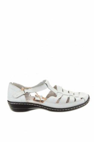 Sandály Rivers, Velikost 38, Barva Bílá, Pravá kůže, Cena  961,00Kč