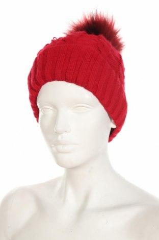 Καπέλο, Χρώμα Κόκκινο, 85%ακρυλικό, 15% πολυαμίδη, Τιμή 7,34€