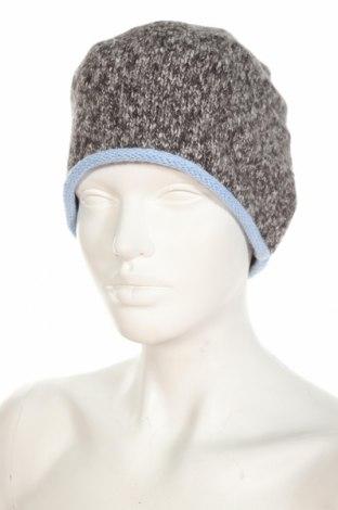 Шапка Christian Berg, Цвят Сив, 49% памук, 45% акрил, 6% полиестер, Цена 5,46лв.