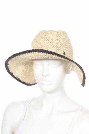 Καπέλο Comma,, Χρώμα  Μπέζ, Άλλα υφάσματα, Τιμή 18,95€