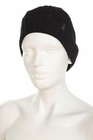 Шапка Gustav Muller, Цвят Черен, 50% полиестер, 20% полиамид, 20% полиакрил, 10% вълна, Цена 7,20лв.