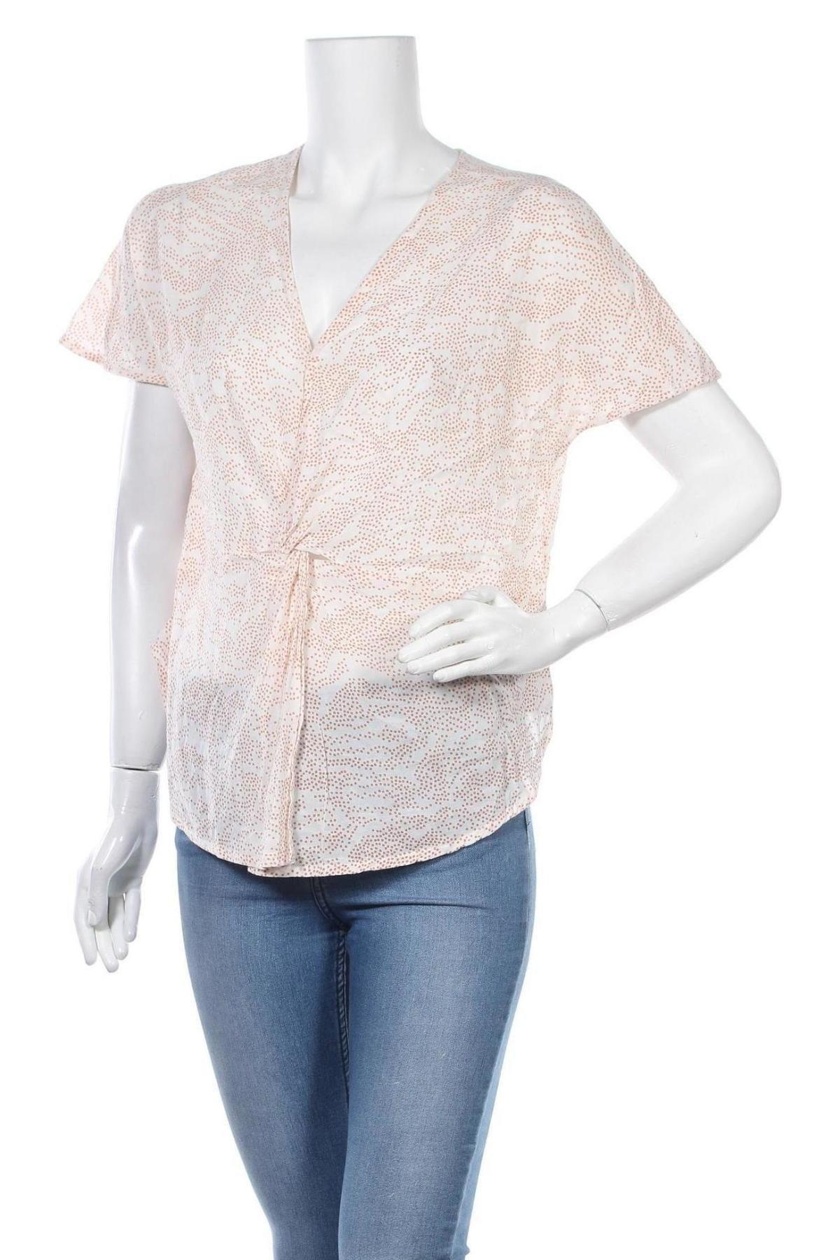 Дамска блуза, Размер S, Цвят Розов, 55% вискоза, 45% памук, Цена 3,00лв.