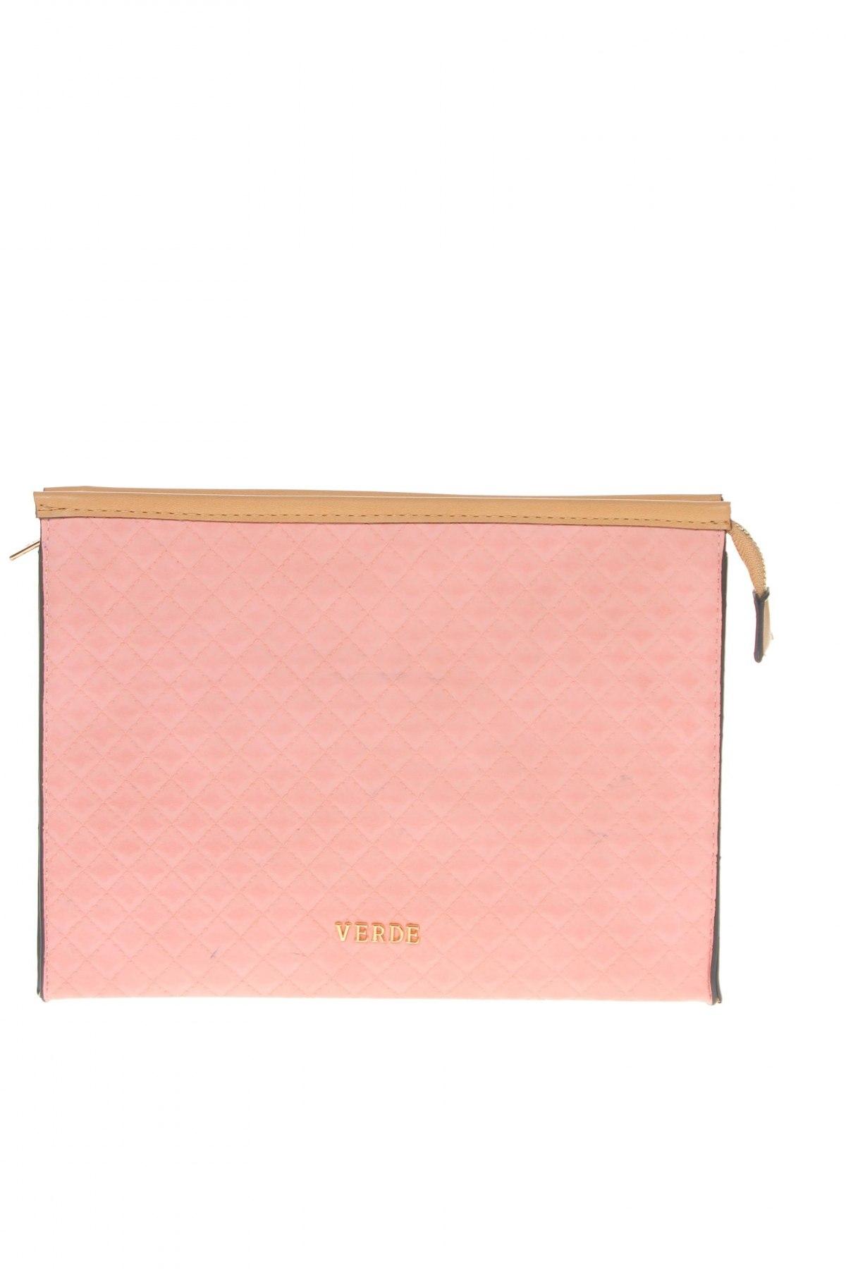 Дамска чанта Verde, Цвят Розов, Еко кожа, Цена 12,42лв.