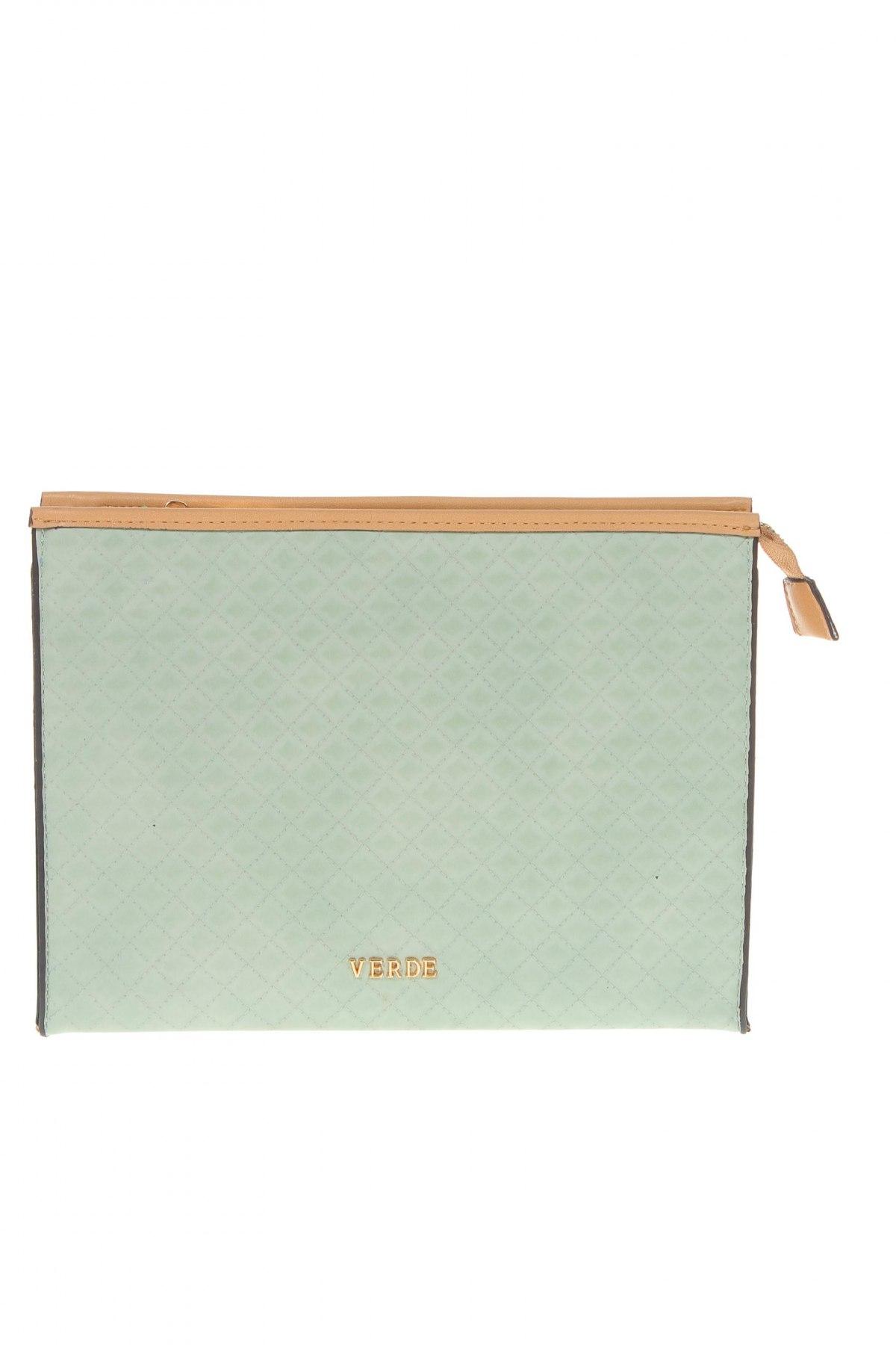 Дамска чанта Verde, Цвят Зелен, Еко кожа, Цена 17,25лв.