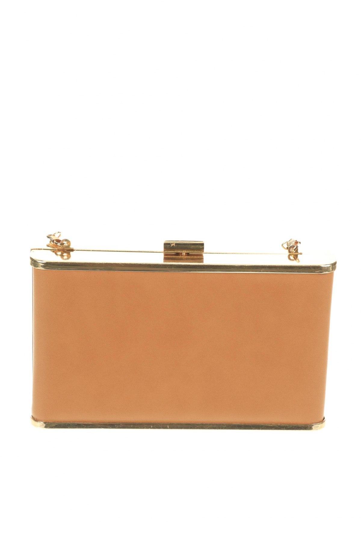 Дамска чанта Verde, Цвят Бежов, Еко кожа, Цена 12,88лв.