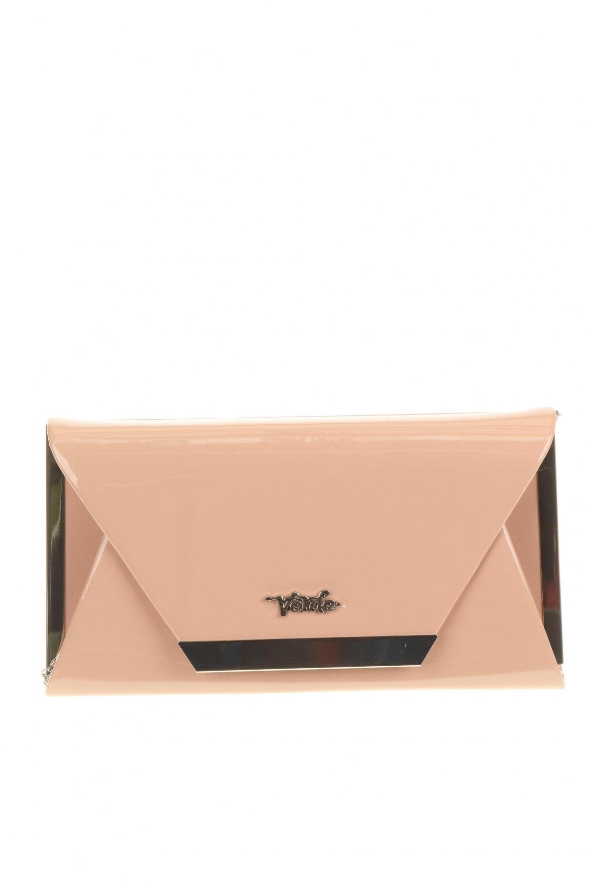 Дамска чанта Verde, Цвят Бежов, Еко кожа, Цена 10,56лв.