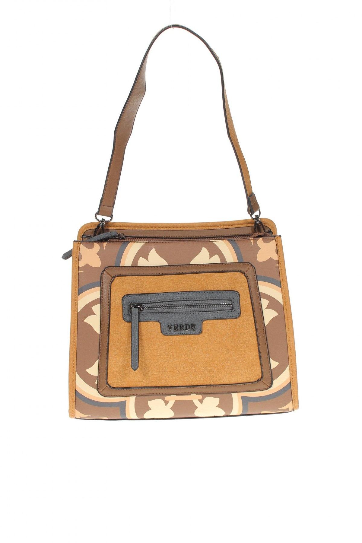 Дамска чанта Verde, Цвят Многоцветен, Еко кожа, Цена 66,75лв.