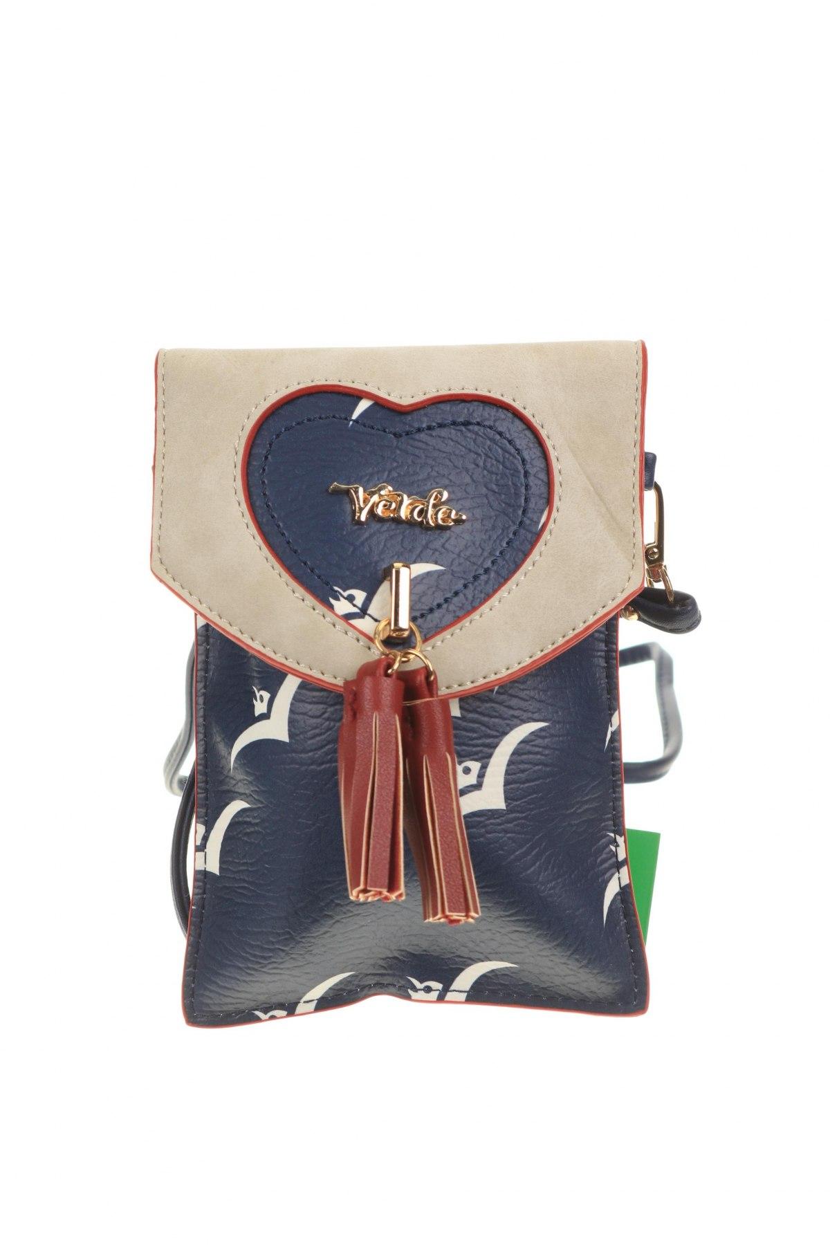 Дамска чанта Verde, Цвят Многоцветен, Еко кожа, Цена 11,80лв.