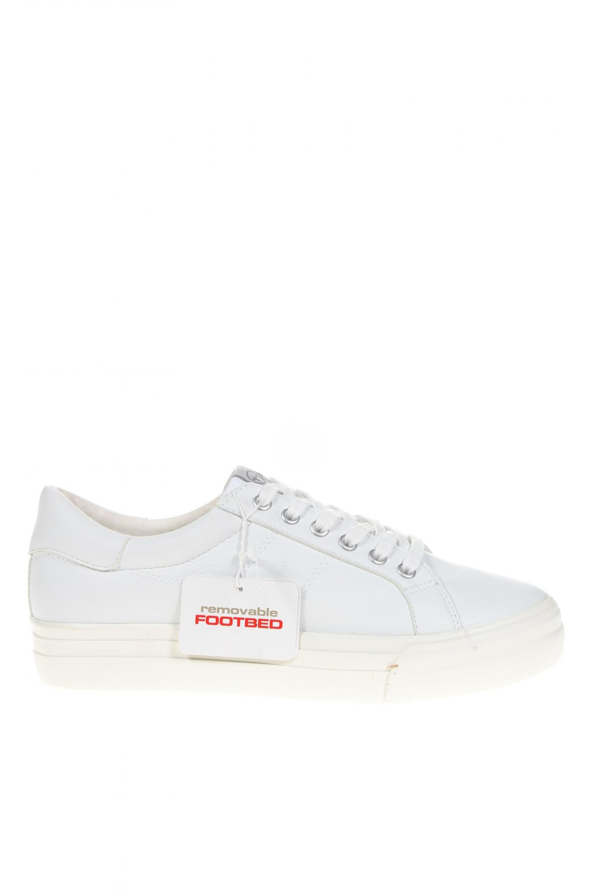 Дамски обувки Tamaris, Размер 41, Цвят Бял, Еко кожа, Цена 41,35лв.