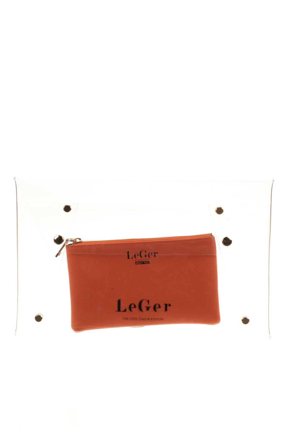 Несесер LeGer By Lena Gercke, Цвят Оранжев, Еко кожа, Цена 17,15лв.