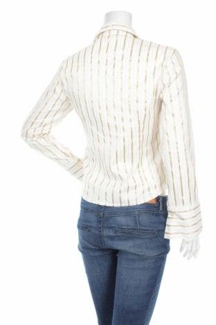 Γυναικείο πουκάμισο Catania, Μέγεθος L, Χρώμα Λευκό, 50% βαμβάκι, 45% πολυεστέρας, 5% ελαστάνη, Τιμή 15,98€