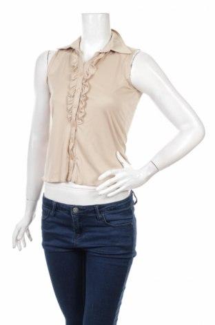 Γυναικείο πουκάμισο Colloseum, Μέγεθος M, Χρώμα  Μπέζ, Τιμή 16,08€