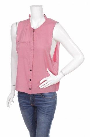 Γυναικείο πουκάμισο Just Female, Μέγεθος M, Χρώμα Ρόζ , Βισκόζη, Τιμή 17,94€