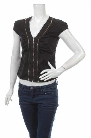 Γυναικείο πουκάμισο Primo Emporio, Μέγεθος S, Χρώμα Μαύρο, Τιμή 16,08€
