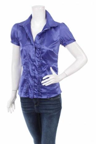 Γυναικείο πουκάμισο Target, Μέγεθος S, Χρώμα Μπλέ, Πολυεστέρας, ελαστάνη, Τιμή 10,82€