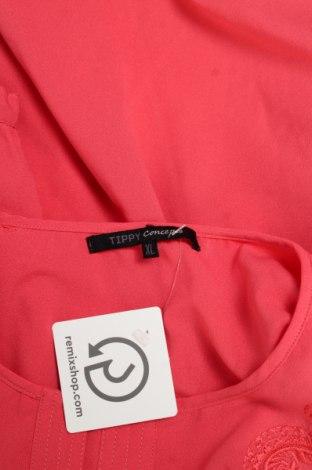Γυναικείο πουκάμισο Tippy, Μέγεθος XL, Χρώμα Ρόζ , Πολυεστέρας, Τιμή 15,46€