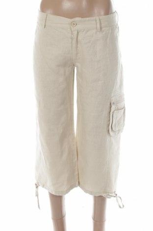 Γυναικείο παντελόνι Time Out, Μέγεθος S, Χρώμα  Μπέζ, Λινό, Τιμή 17,64€