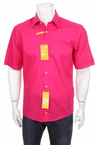Cămașă de bărbați Redmond, Mărime M, Culoare Roz, 100% bumbac, Preț 28,82 Lei
