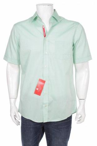 Pánská košile  Redmond, Rozměr M, Barva Zelená, 100% bavlna, Cena  92,00Kč