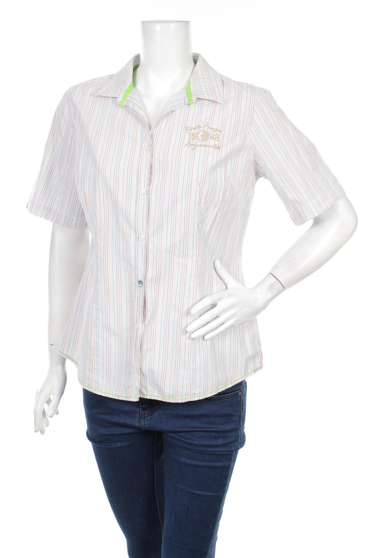 Γυναικείο πουκάμισο Arqueonautas, Μέγεθος XL, Χρώμα Πολύχρωμο, 100% βαμβάκι, Τιμή 17,01€