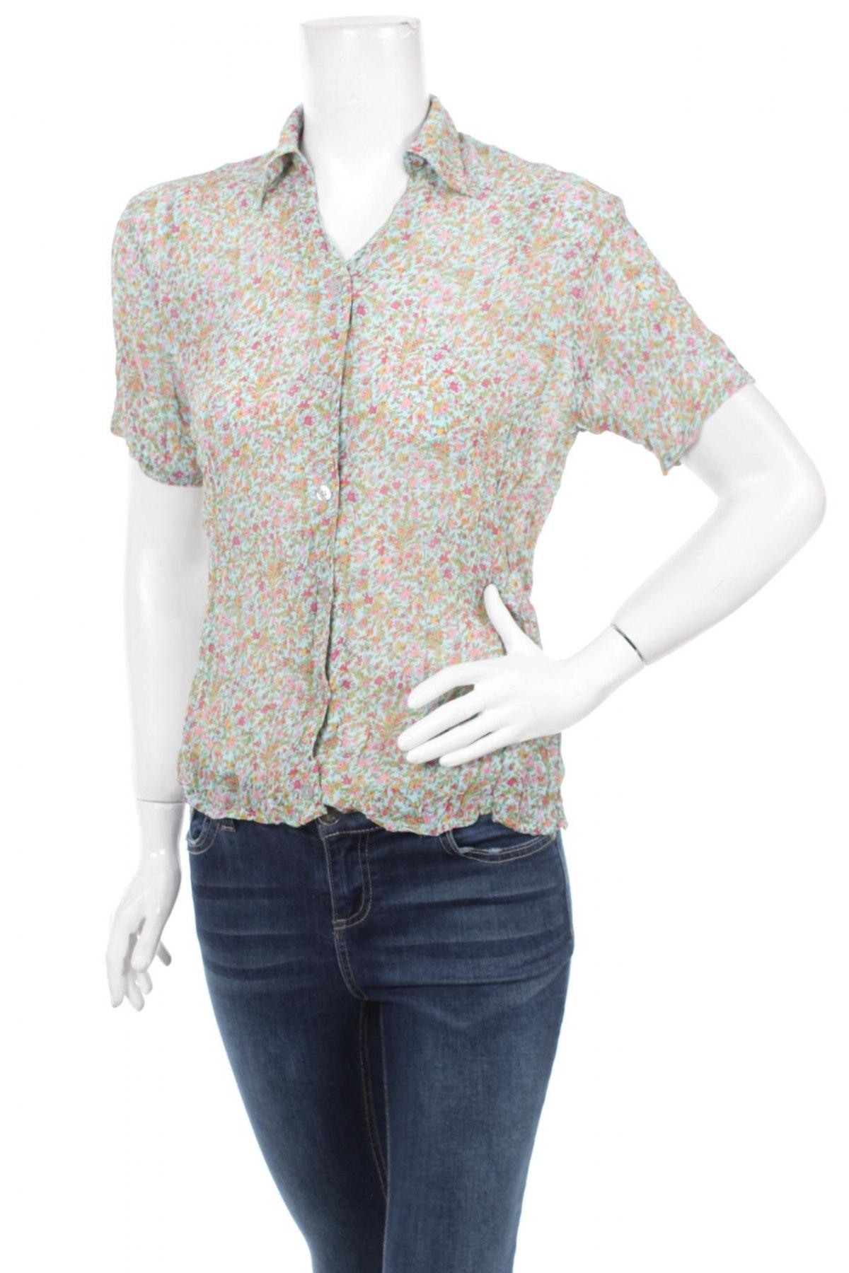 Γυναικείο πουκάμισο Harmony, Μέγεθος S, Χρώμα Πολύχρωμο, 100% πολυεστέρας, Τιμή 12,84€