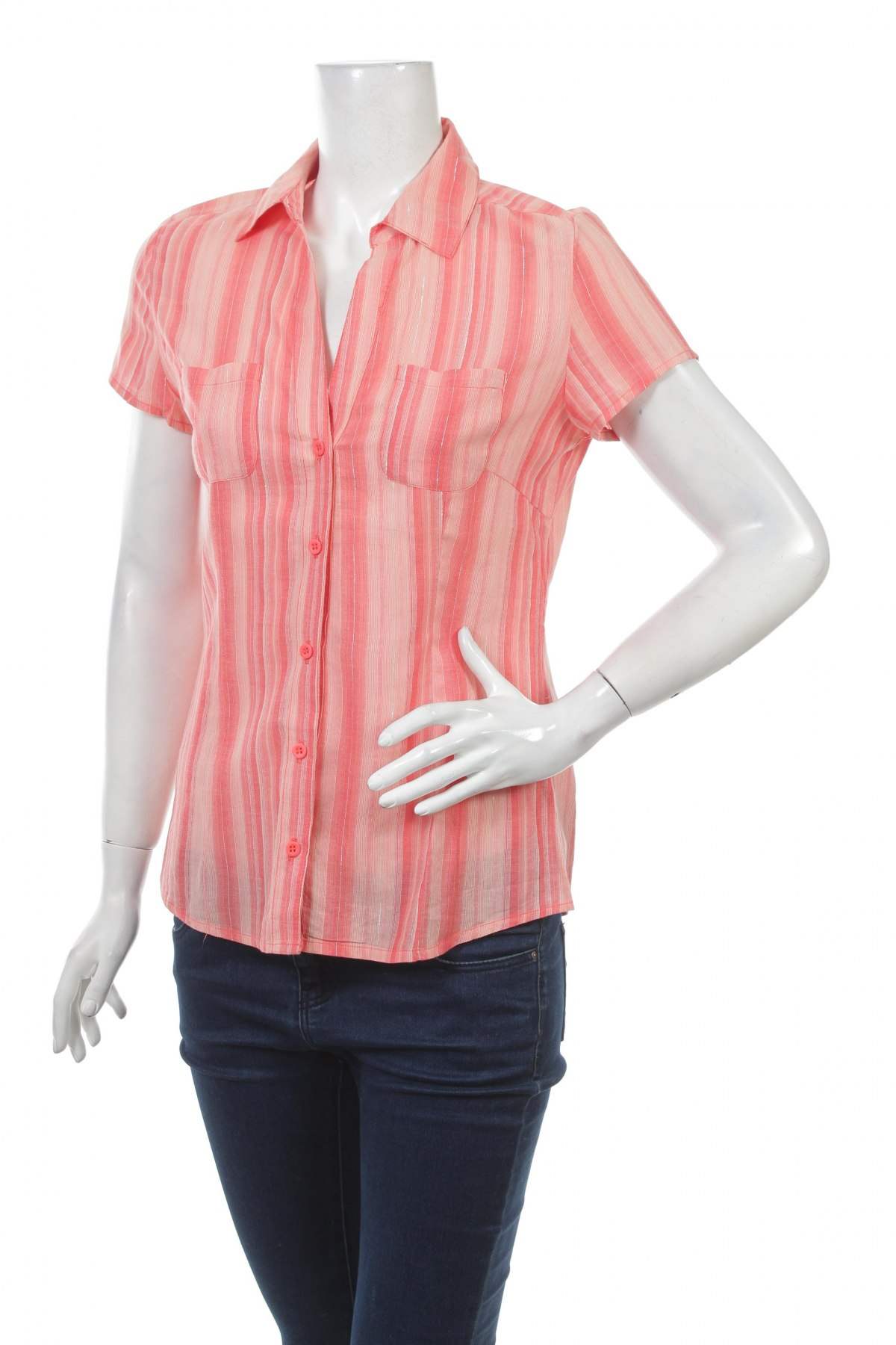 Γυναικείο πουκάμισο Sublevel, Μέγεθος M, Χρώμα Ρόζ , Βαμβάκι, Τιμή 11,34€
