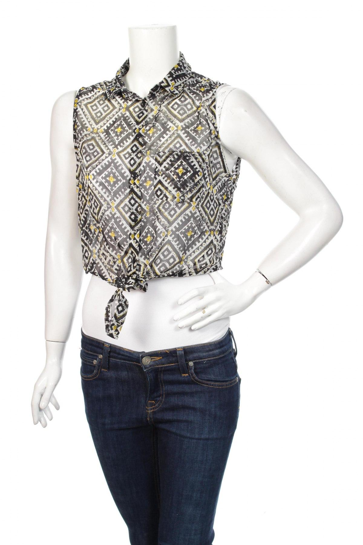 Дамска риза Tally Weijl, Размер L, Цвят Многоцветен, 100% полиестер, Цена 15,08лв.