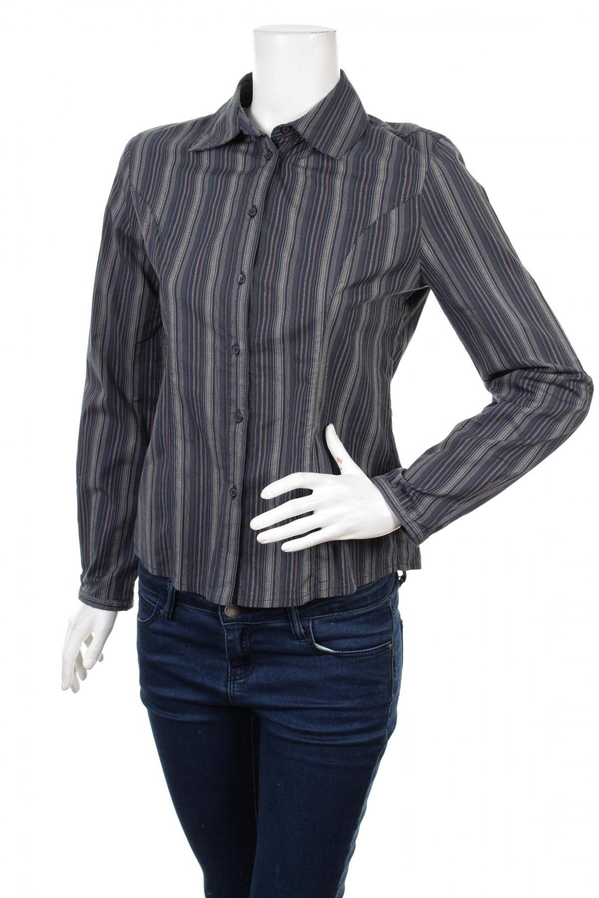 Γυναικείο πουκάμισο Tex By Max Azria, Μέγεθος S, Χρώμα Μπλέ, Τιμή 27,32€