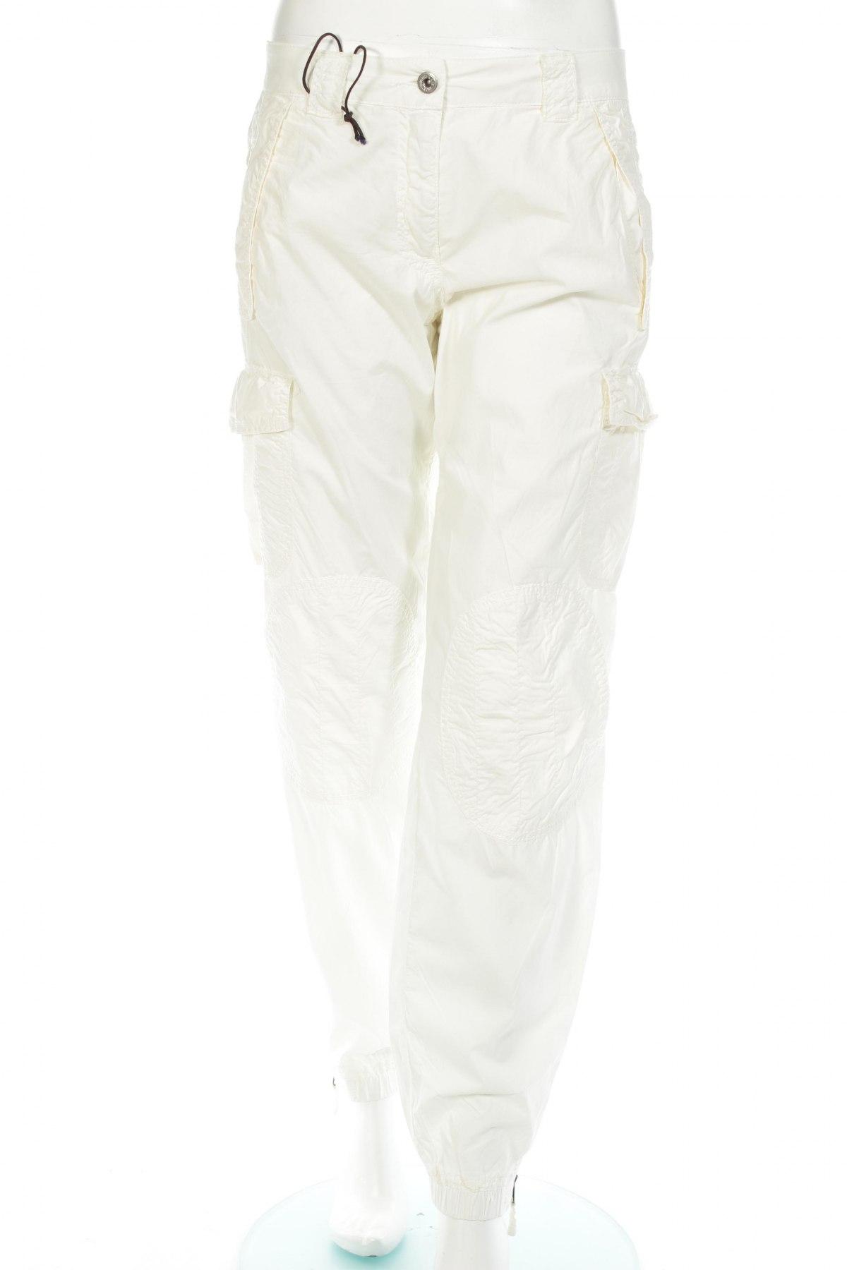 Дамски панталон Murphy & Nye, Размер M, Цвят Екрю, 95% памук, 5% еластан, Цена 28,88лв.