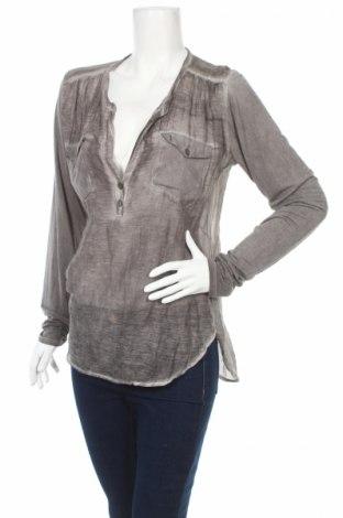 Дамска блуза AJ. 117 Project, Размер XL, Цвят Сив, 70% памук, 30% коприна, Цена 17,50лв.